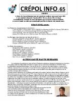 Crépol info 65 du 4 janvier 2019