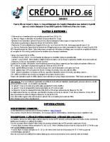 Crépol info 66 du 4 mai 2019