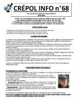 Crépol info 68 du 1er janvier 2020